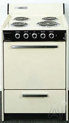 "Summit 24"" Freestanding Electric Range EM6171Q"