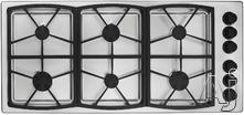 "Dacor 45"" Sealed Burner Gas Cooktop SGM466"