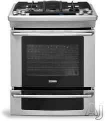 "Electrolux Wave-Touch 30"" Slide-In Gas Range EW30GS75KS"