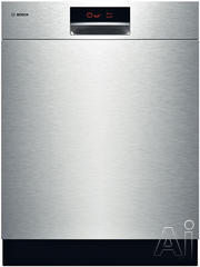 "Bosch 800 Plus 24"" Tall-Tub Dishwasher SHE9ER55UC"