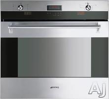 "Smeg Classic Design 30"" Single Electric Wall Oven SOU330X"