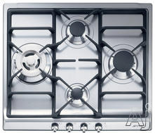 "Smeg 24"" Sealed Burner Gas Cooktop SR60GHU3"