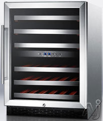 Summit Built In Wine Cooler SWC530LBISTADAX