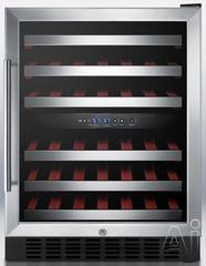Summit Built In Wine Cooler SWC530LBIST