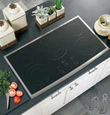 "GE Profile CleanDesign 36"" Electric Cooktop PP975"