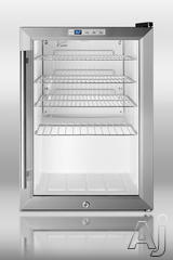 Summit Freestanding Beverage Center SCR312L