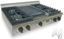 """FiveStar 36"""" Sealed Burner Gas Cooktop TPN037"""