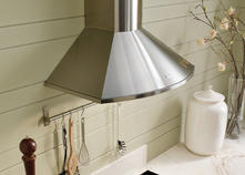 "Faber Decorative Collection 30"" Wall Mount Chimney Style Range Hood TEND30SS"
