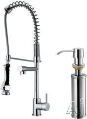 Vigo Industries Spiral Spring Faucet VG02007K2