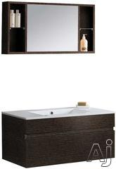Vigo Industries Wall Mount Vanity VG09008104Kx