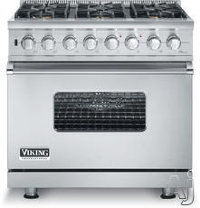 "Viking 36"" Freestanding Gas Range VGSC5366Bx"