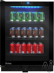 Vinotemp Freestanding/Built In Beverage Center VTBC54TSL