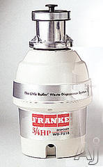 Franke 3/4 HP Batch Feed Waste Disposer WD751B