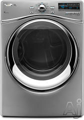 Whirlpool Duet Steam 7.4 Cu. Ft. Electric Front Load Dryer WED95HEX