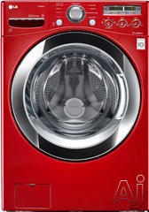 LG SteamWasher 4 Cu. Ft. Front Load Washer WM3250HRA