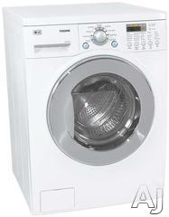 "LG 24"" Electric Front Load Washer Dryer Combo WM3431HS"
