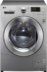 LG Front Load Washer Dryer Combo WM3455H