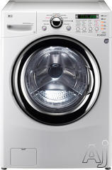 "LG 27"" Electric Front Load Washer Dryer Combo WM3987HW"