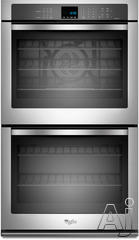 """Whirlpool 27"""" 27"""" Double Electric Wall Oven WOD93EC7A"""