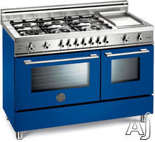 "Bertazzoni Professional 48"" Freestanding Gas Range X486GGGV"