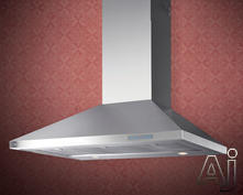 "XO 36"" Wall Mount Chimney Style Range Hood XOV36S"