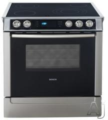 "Bosch 30"" Slide-In Electric Range HEI71"