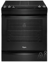 "Whirlpool 30"" Slide-In Gas Range WEG730H0DB"