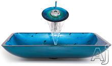 Kraus Galaxy Fire Sink & Faucet Combination CGVR204RE10