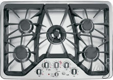 "GE 30"" Sealed Burner Gas Cooktop CGP350SETSS"