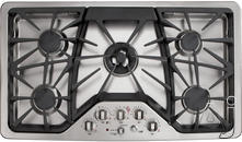 "GE 36"" Sealed Burner Gas Cooktop CGP650SETSS"