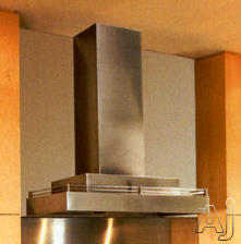 """Vent-A-Hood Contemporary 30"""" Wall Mount Chimney Style Range Hood CWLH9130SS"""