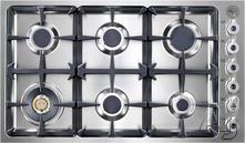 """Bertazzoni Professional 36"""" Gas Cooktop DB36600X"""