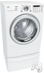LG 7.3 Cu. Ft. Electric Front Load Dryer DLE7177WM