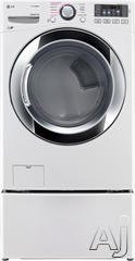 LG Front Load Gas Dryer DLGX3371W
