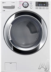 LG 7.4 Cu. Ft. Gas Front Load Dryer DLGX3371W