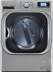 LG SteamDryer 9 Cu. Ft. Electric Front Load Dryer DLEX8500V