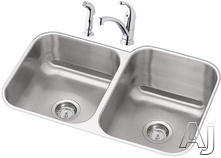 Elkay Double Bowl Kitchen Sink DXUH312010RDF