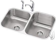 Elkay Double Bowl Kitchen Sink DXUH312010RDF