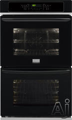 "Frigidaire Gallery 27"" Double Electric Wall Oven FGET2765PB"