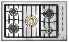 "Fisher & Paykel 36"" Sealed Burner Gas Cooktop GC913SS"