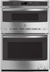 """GE 30"""" Double Electric Combination Wall Oven JT3800SHSS"""