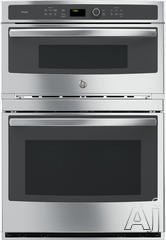 "GE Profile 30"" Double Electric Combination Wall Oven PT7800SHSS"