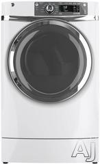 GE RightHeight 8.3 Cu. Ft. Electric Front Load Dryer GFDR480EFWW