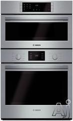 """Bosch 500 30"""" Double Electric Speed Oven HBL5751UC"""