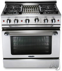 "Capital 36"" Freestanding Gas Range GSCR366"