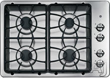 "GE 30"" Sealed Burner Gas Cooktop JGP329DET"