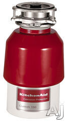 KitchenAid 5/8 HP Continuous Feed Waste Disposer KCDC150K