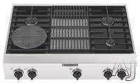 "KitchenAid 36"" Sealed Burner Gas Cooktop KGCP46"