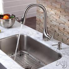 Kraus Kitchen Combo Sink & Faucet Combination KBU14KPF2170SD20