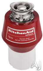 KitchenAid 3/4 HP Continuous Feed Waste Disposer KCDI250X